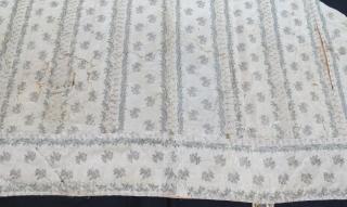 Early 19th century ottoman textile . 270 x 127 cm  www.eymen.com.tr