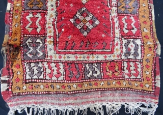 Antique Anatolian Rug , 102 x 75 cm
