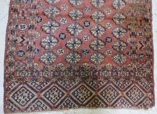 Turkmen tekke small rug .117 x 97 cm  www.eymen.com.tr