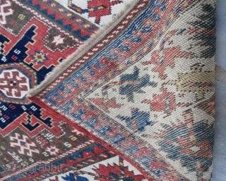 Early Caucasian rug , 202 x 123 cm . www.eymen.com.tr