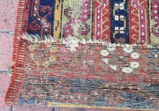 Antique Anatolian mucur yastik,97 x 54 cm