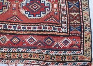 Antique persian kocan kurdish rug.250 x 160 cm. www.eymen.com.tr