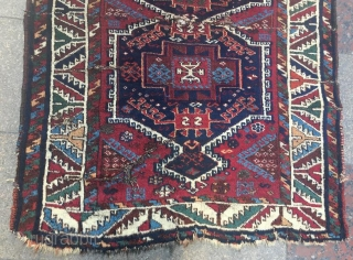 Anatolian kurdish rug,260 x 107 cm