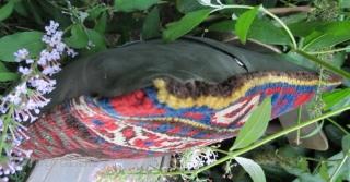 Antique Jaff kurdish rug pillow .51 x 33 cm . www.eymen.com.tr