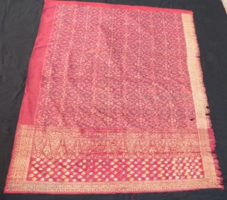 Antique Indonesian textile .