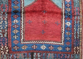 Anatolian Karaman Rug in good condition .150 x 120 cm 
