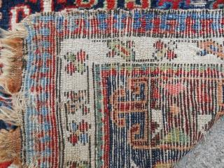Shahsavan pile bagface in good condition. Circa 1870-80.