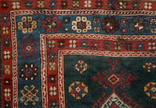 a peacefull green grass field, a fresh cold blue river, shining stars around & among us .... pure tribal poetry from west of Gendje/south of Kazak and Kagizman, the weaver could be  ...