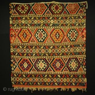 Colors, colors, colors ... Shirwan kilim, 167x150 cm more pieces: http://rugrabbit.com/profile/5160