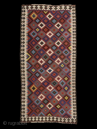 """Color which, like music, is a matter of vibrations, reaches what is most general and therefore most indefinable in nature: its inner power."" Paul Gauguin Bakhtiari (?) kilim, Persia, 19th century. i  ..."