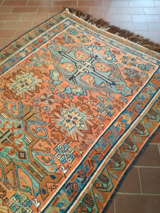 An antique Sumak rug with 210/110 cm in very good shape.