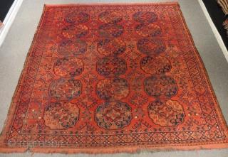 Antique Türkmen Ersari Rug Size.235x230cm