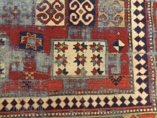 Antique Caucasian Karacop Fragment Rug Size:155x100 cm