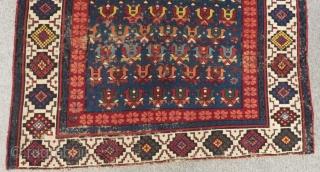 Antique Caucasian Zeyhur Rug Size.160x106cm