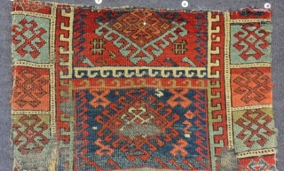 Early19th Century East Anatolian Sivas Yastık Size.82x62cm