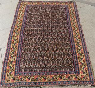 Antique Persian Sine Kilim Size.180x128cm