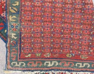 Antique Caucasian Zeyhur Rug Size.155x95cm