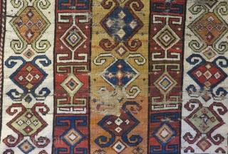 Antique Caucasian Zakatala Rug Size.176x116 Cm