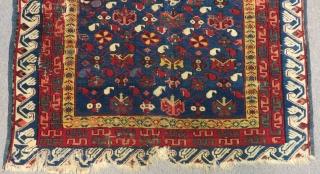 Antique Caucasian Zeyhur Rug Size.140x100cm