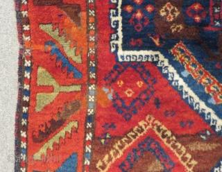19th Century East Anatolian Malatya Rug Size.330x104Cm