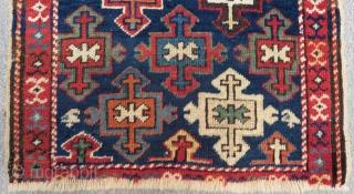 Antique Shahsevan Bagface Size.60x51 Cm
