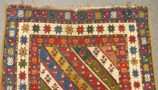 Antique Shahsavan Rug Size.202x105cm
