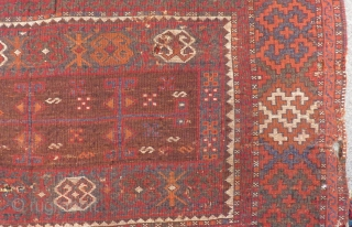 Antique East Anatolian Rug Size.188125cm