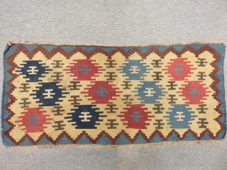 Antique Shahsevan Kilim Size.105x48cm.52x52cm