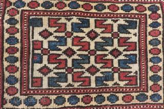 Antique West Anatolian Bergama Bagface Size.48x30cm