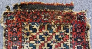 Mid 19th c West Anatolian Yüncü Bag face Size.50x38 Cm