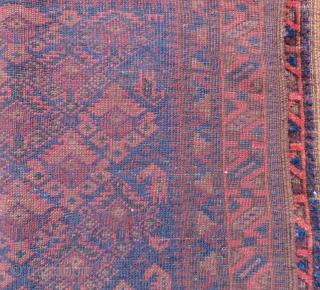 Antique Baluch Bagface Size.66x56cm