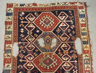 Antique Shahsavan Rug Circa 1870 or 1880 All Colours Natural