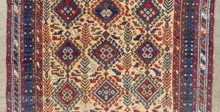 Antique Persian Afshar Rug Circa.1880 or 1890 Size.173x138cm