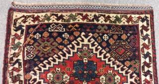 Antique Qasgqai Qamse Bagface Size.58x50cm