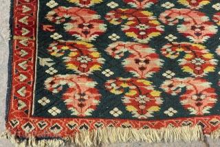 Antique Caucasian Zeyhur Small Rug Size.78x65cm