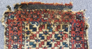 Antique West Anatolian Bergama Bagface Size.50x38cm