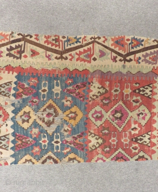 East Anatolian Kilim One Part Size.380x85cm