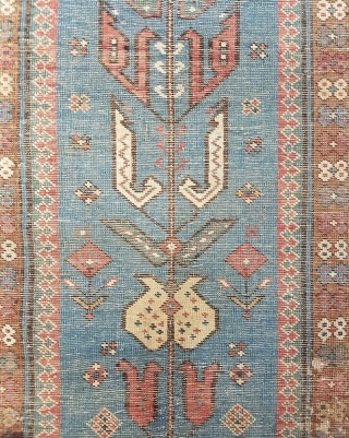 Antique Caucasian Sirvan Kuba Rug Size.310x106cm