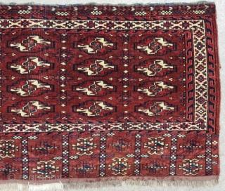 Antique Türkmen Yamud Cuval Size.128x72 Cm