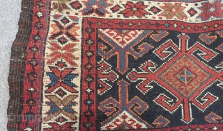 Antique Persian Veramin Bagface Size.96x43cm