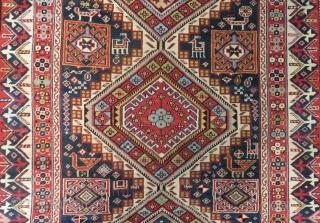 Antique Cacucasian Shirvan Sahnazar Rug Circa(1890) Size.300x135 Cm