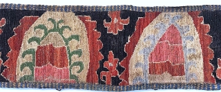 1628 Uzbek embroidered belt. Late nineteenth century