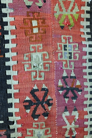 Hotamis Konya, central Anatolia kilim fragment. 