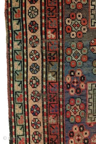 Kazak, 165 x 120 Cm., 5.5 ft. x 4 ft.  Wool on wool.
