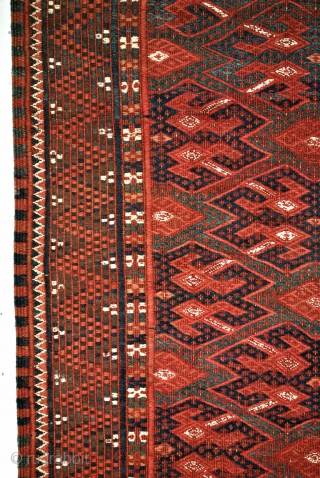 Soumack, Yomut Turkmen 280 x 133 Cm. 