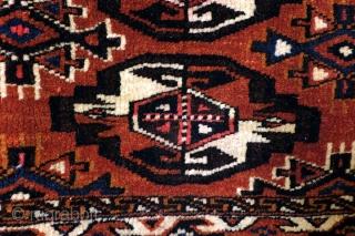 Turkmen Yomut Chuval, , 125 x 80 cm.