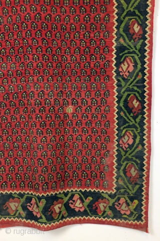 Kilim, Caucasus, Karabach, size 242 x 147 cm. 