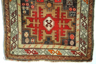 Antique Kazak, Leshki Star, Shirvan area. 