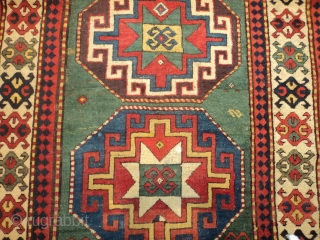 #7198 Kazak antique rug