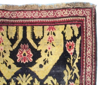 #6504 Karabaugh antique Caucasian Orienta Rug